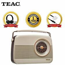 TEAC Retro DAB+ Digital Radio with AM/FM | LED Display