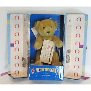 MERRYTHOUGHT TITANIC BEAR LIMITED EDITION BOX & CERTIFICATE