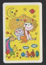 Playing Swap Cards 1 Single 1970's Japanese Nintendo Ado Mizumori Girl N138
