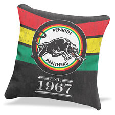 Penrith Panthers NRL HERITAGE Cushion fabric Pillow Christmas Fathers Day Gift