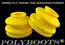 2x Polyboots Ball Joint Boots 17x39x30mm Suspension Replacement Rubber Dust Boot