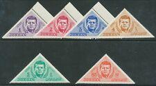 More details for jordan 1964 president kennedy triangular set mnh nice bin price gb£10.00