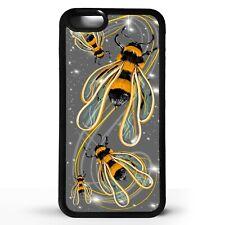 Patrón de abeja Bumblebee impresión las abejas Bumble Bee Arte Gráfico Teléfono Caso Cubierta