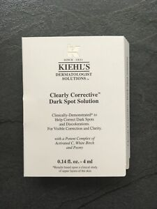 BRAND NEW Kiehl's Clearly Corrective Dark Spot Solution (4ml) Travel Size Sample