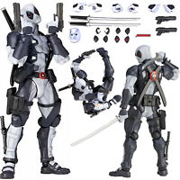 "6"" Kaiyodo Amazing Yamaguchi Deadpool X-Force PVC Action Figure Toy Collection"