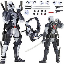 "6"" Kaiyodo Amazing Yamaguchi Deadpool X-Force PVC Action Figure Toys Collection"