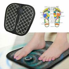 EMS Foot Feet Massager Mat Pad Muscle Blood Circulation Pain Relief Spa UK