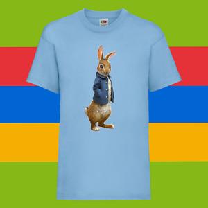 Peter Rabbit The Runaway Cartoon Kids Boys Unisex Birthday Gift Top T-Shirt 05