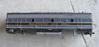 Vintage HO Scale Athearn Baltimore and Ohio B Unit Locomotive Body