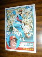 1983 Topps #70 Steve Carlton Philadelphia Phillies NrMt