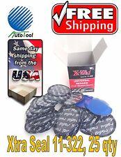 "Xtra Seal 11-322 Medium Round Universal Repair Radial Tire Patch 25 pc 2-1/4"""