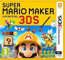 Nintendo 3DS SUPER MARIO MAKER DS Platform Video Game Age 3+ (2DS/3DS) NEW
