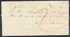 BRIEF TETTERODE 16 FEB.1811-AMSTERDAM,CURSIEF VERTREKST.HAARLEM,PORT 5 ST. Zk023