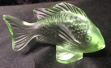Lalique Green Damsel Fish