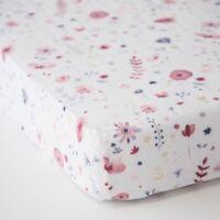 Little Unicorn Cotton Muslin Standard Crib Sheet Fairy Garden