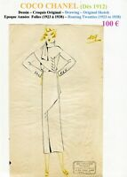 CHANEL Very Rare Original scketch - with Chinese Ink - Roaries Twenties - # 109