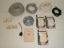 Mixed Lot Telephone Cables Adapters Plugs Jacks DSL