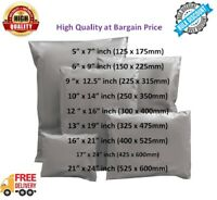 Strong Grey Mailing Bags Parcel Postage Bags Poly Mail Self Seal All Size