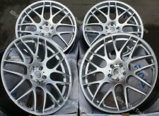 "18"" Silver DTM Alloy Wheels Fits BMW 5 Series E12 E28 E34 E60 E61 F10"