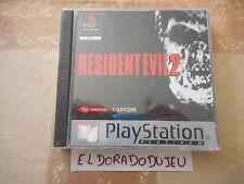 ELDORADODUJEU > RESIDENT EVIL 2 Pour PLAYSTATION PS1 PSX VF COMPLET 2 CD PROPRES
