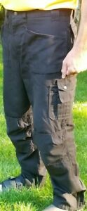 Blaklader Workwear Knee Pad black pants men's 36 x 32