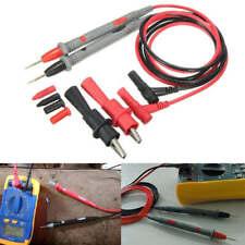 Probe Test Lead 20A + Alligator Clips Agilent/Fluke/Ideal Clamp Cable Multimeter