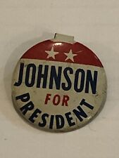 Johnson For President Folding Tab