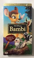 Disney's BAMBI Special Platinum Edition VHS Tape 2005 New Sealed
