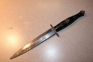 Vintage Valor 120 Japan Commando Dagger Tactical Knife