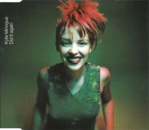 Kylie Minogue, Did It Again, NEW/MINT Original UK PROMO CD single