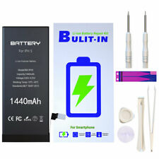 Internal Replacement Battery 1440/1560mAh for Apple iPhone 5 5S + Free Tools Kit