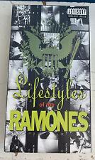 LIFESTYLES OF THE RAMONES VHS 80'S PUNK ROCK MUSIC VIDEOS DEBBIE HARRY CBGB NYC