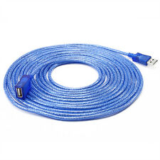 DTECH 15ft USB Extension Cable Type A Male to Female Long Extender Cord Adapter