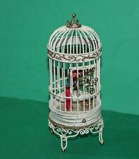 Dolls House Parrot In Bird Cage