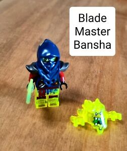 USED LEGO NINJAGO BLADE MASTER BANSHA MINIFIGURE MINT CONDITION
