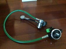 Scubamax scuba regulator - Similar to Dive Rite Rg1200 - spg stage deco reg -DIN