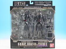 [FROM JAPAN]S.I.C. VOL.59 Kamen Rider W Fang Joker & Kamen Rider Skull Actio...