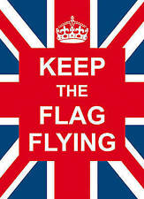 Keep the Flag Flying (Gift), New, . Book