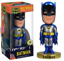 SDCC Funko Classic 66 Batman Metallic Wacky Wobbler Bobble Head LIMITED - READ