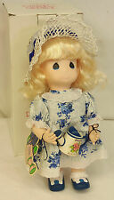 """1995 Precious Moments GARDEN OF FRIENDS Blossom AUGUST 12"""" Doll 2nd Edition MINT"""