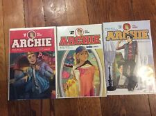 Archie 2015 series 1-3 First issue signed by Mark Waid