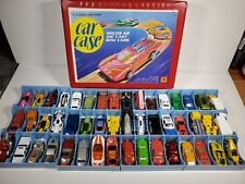 Collector Cars Lot of 48 Hot Wheels, Matchbox & Other Cars & Trucks Nice Case