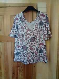 ladies jersey style floral next top