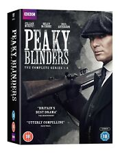 Peaky Blinders Series 1 to 4 BOXSET and DVD