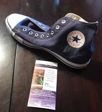 SNOOP DOGG SIGNED BLUE CONVERSE CHUCK TAYLOR ALL STAR SHOE JSA/COA K25914