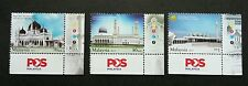 Malaysia Mosques 2015 Muslim Building Religious Culture Mosque (stamp logo) MNH