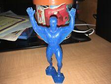 "1967 Spider-Man Marvel Comics 6"" Blue Plastic Figure"