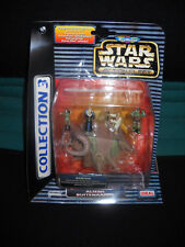 Star Wars Action Fleet MicroMachines Coll. 3 Batha plus 4 Figuren - Bib Fortuna