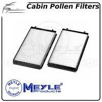 2 x BMW 7 Series E65 E66 Meyle Cabin Filter Pollen Microfilter Kit 3123190012S