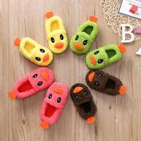 Toddler Boys Girls Baby Kids Non-Slip Shoes Warm Cute Animal Home Soft Slipper